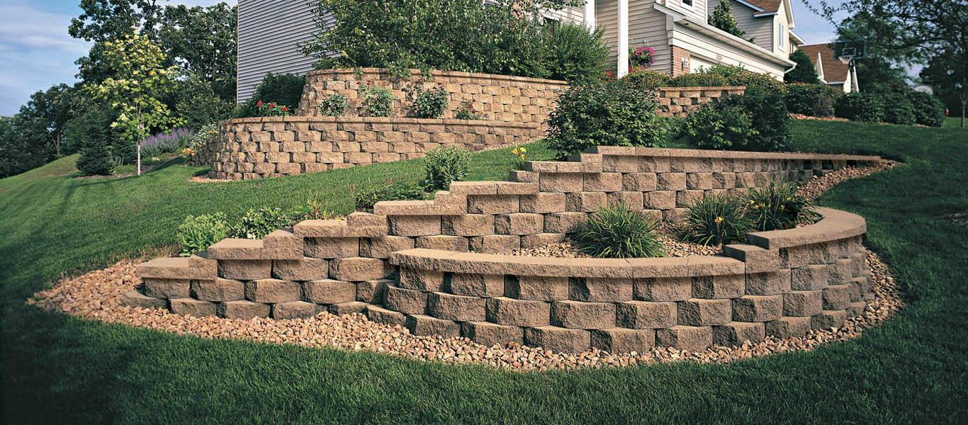Retaining Wall - diamond